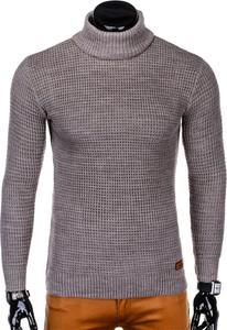 Brązowy sweter Edoti