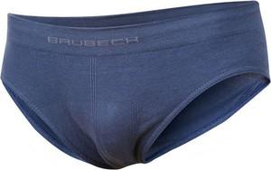 Niebieskie majtki dziecięce Brubeck dla chłopców z bawełny
