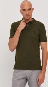 Koszulka polo POLO RALPH LAUREN z dzianiny w stylu casual