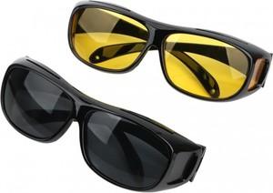 Stylion Okulary rozjaśniające i słoneczne HD VISION dla kierowców do jazdy w nocy i w dzień