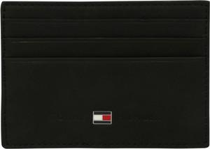 Czarny portfel męski Tommy Hilfiger na karty kredytowe