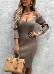 Sukienka Sandbella dopasowana