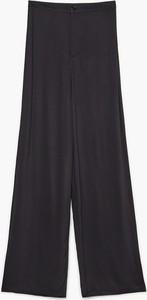 Czarne spodnie Cropp w stylu retro