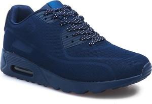Granatowe buty sportowe Gemre.com.pl w sportowym stylu