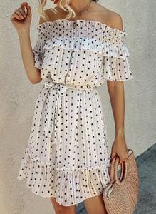 Sukienka Sandbella hiszpanka mini