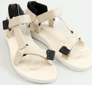Sandały Buty Damskie w stylu casual z płaską podeszwą