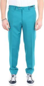 Niebieskie spodnie Pt Torino z wełny