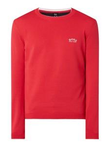 Czerwony sweter Hugo Boss w stylu casual