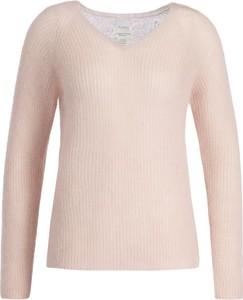 Różowy sweter MaxMara Leisure w stylu casual