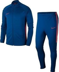 Niebieski dres dziecięcy Nike z dzianiny