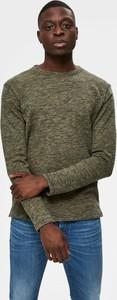 Sweter Selected Homme w stylu casual z bawełny z okrągłym dekoltem