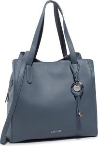 Niebieska torebka Liu-Jo matowa