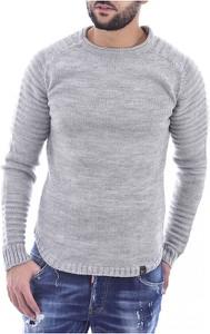 Sweter Goldenim Paris w stylu casual z okrągłym dekoltem