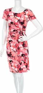 Sukienka Precis z dekoltem w kształcie litery v mini z krótkim rękawem