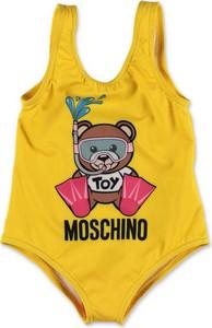Żółty strój kąpielowy Moschino