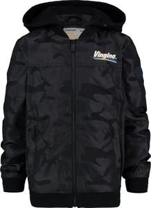 Czarna kurtka dziecięca Vingino dla chłopców