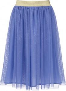 Niebieska spódniczka dziewczęca Endo z tiulu
