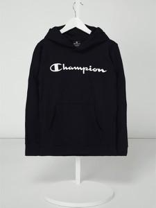 Czarna bluza dziecięca Champion