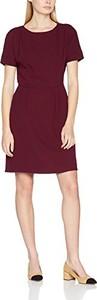 Bordowa sukienka s.oliver