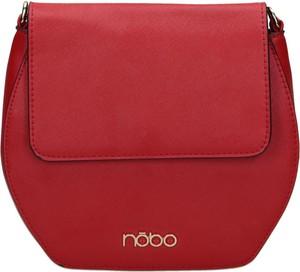 Czerwona torebka NOBO w stylu casual średnia na ramię