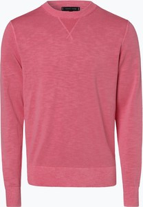 Różowy sweter Tommy Hilfiger z dżerseju