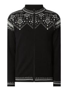 Czarny sweter Dale of Norway w młodzieżowym stylu