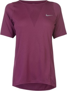 Fioletowy t-shirt Nike