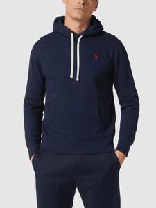 Granatowa bluza POLO RALPH LAUREN z bawełny w stylu casual