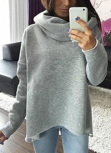 Sweter Sandbella w stylu casual z wełny