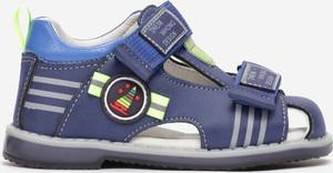 Granatowe buty dziecięce letnie Multu
