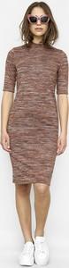 Sukienka Freeshion mini z okrągłym dekoltem