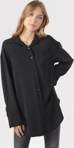 Czarna koszula born2be z długim rękawem