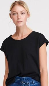 T-shirt Reserved w stylu casual z bawełny z krótkim rękawem