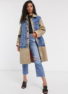 Płaszcz Diesel z jeansu