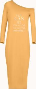 Sukienka Byinsomnia z długim rękawem ołówkowa w stylu casual