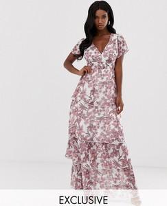 Sukienka Missguided z dekoltem w kształcie litery v