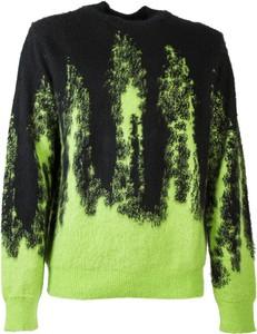 Czarny sweter MSGM z okrągłym dekoltem