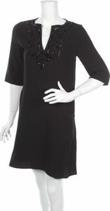 Czarna sukienka Vanessa Bruno z długim rękawem w stylu casual