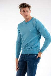 Sweter Guess z bawełny w stylu casual