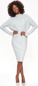 Sukienka Top Secret midi w stylu casual z długim rękawem
