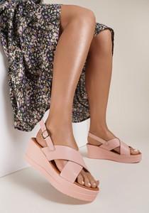 Sandały Renee w stylu casual z płaską podeszwą