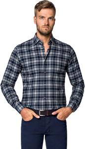 Koszula LANCERTO z długim rękawem z bawełny