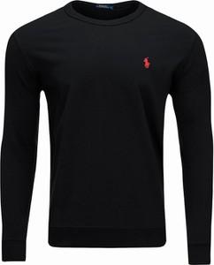 Czarna bluza Ralph Lauren z bawełny
