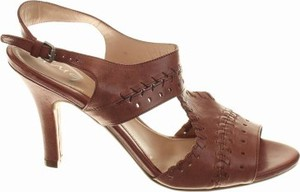 Różowe sandały Cinque ze skóry