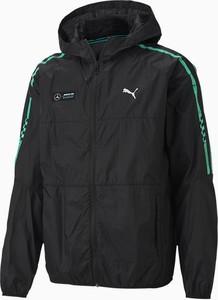 Czarna kurtka Puma krótka w sportowym stylu