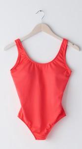 Czerwony strój kąpielowy Sinsay
