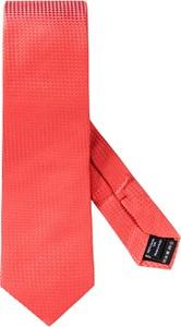 Czerwony krawat Joop! z jedwabiu