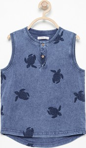Niebieska bluzka dziecięca Reserved