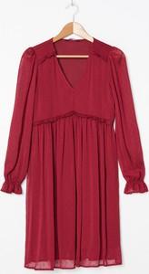 Czerwona sukienka House