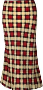 Spódnica Fokus z tkaniny midi w stylu casual
